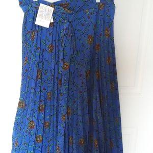 NWT | LULAROE | Floral DEANNE Skirt